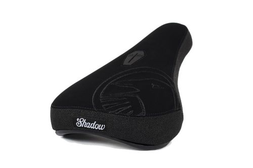Shadow Crow Mid Seat - Black With Black Embroidery